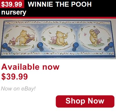 Wall Hangings: Winnie The Pooh Nursery BUY IT NOW ONLY: $39.99