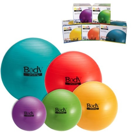 BodySport Exercise Fitness Ball Pilate Yoga 85 cm Extra Large: Health & Personal Care #exercise #fitness #weightloss