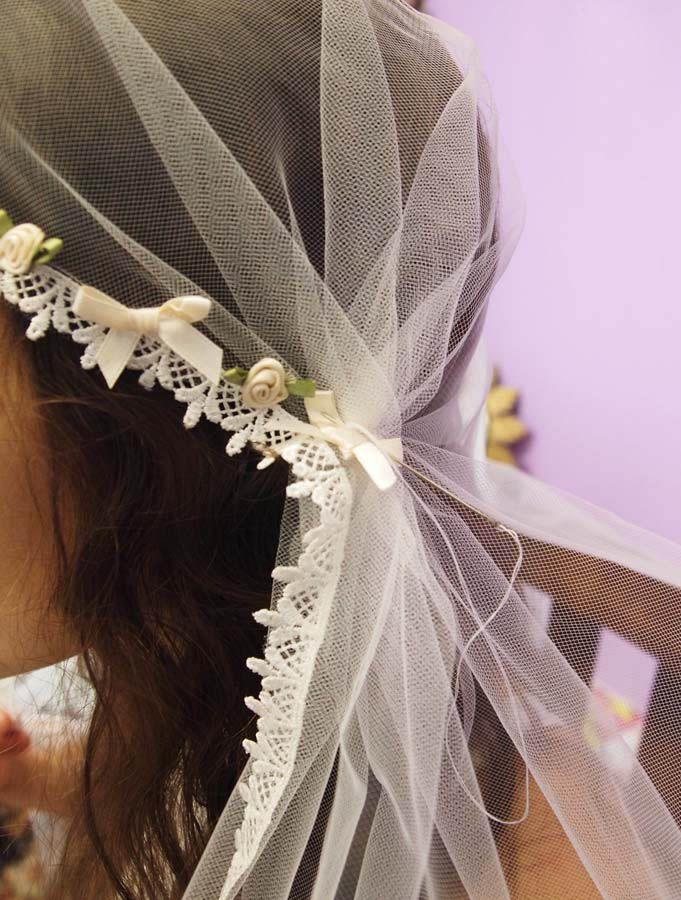 How to make a Juliet Cap Veil.   do it, yourself / diy