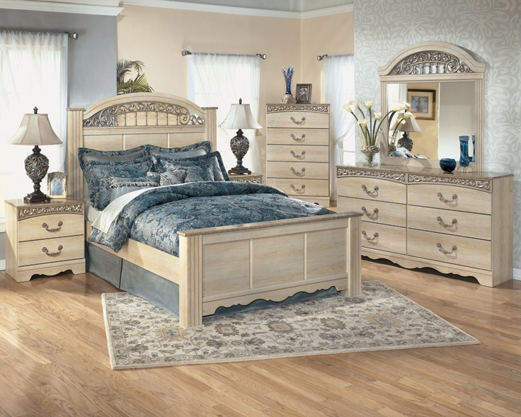 Light Wooden Bedroom Suite With Beautiful Design!