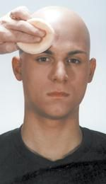 Blending it all in - Hints and Tips - Bald Cap Kit Instructions