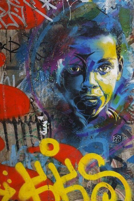 Brick Lane, London Urban Painting from $34.99 | www.wallartprints.com.au #ArbanArt #WallArtPrints