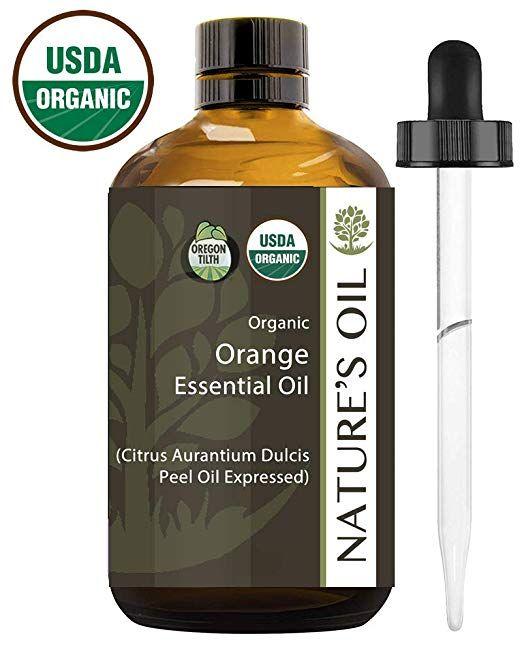 Best Orange Essential Oil Pure Certified Organic Therapeutic Grade 60ml Organic Essential Oils Peppermint Essential Oil Essential Oils