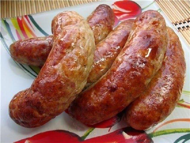 Самые вкусные рецепты: Домашние колбаски