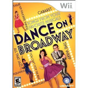 Burn off the calories from all those holiday treats!  Dance on Broadway for Nintendo Wii