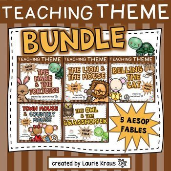 Are you teaching your students how to determine the theme, moral, lesson, and central message of a story? This product provides your students with many opportunities. Students will use text evidence, identify the theme, understand vocabulary, identify sto