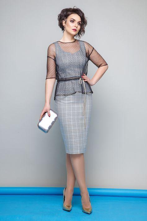 4a3fb930955 Коллекции женской одежды весна 2018 от компании Jerusi. Белорусская  трикотажная одежда сезона весна 2018.