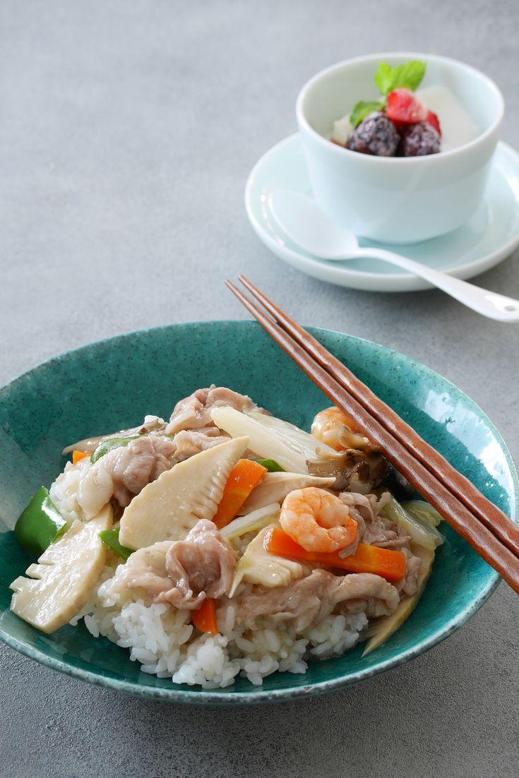 10分で作る野菜たっぷりの中華丼 by 川崎利栄 | レシピサイト「Nadia | ナディア」プロの料理を無料で検索
