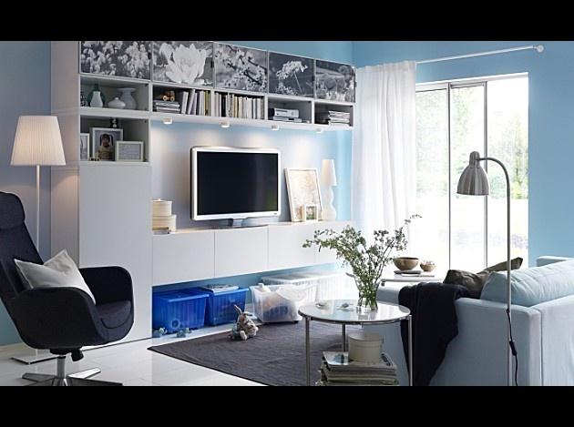banc tv besta 1 living room pinterest d co maison mobilier et bureau. Black Bedroom Furniture Sets. Home Design Ideas