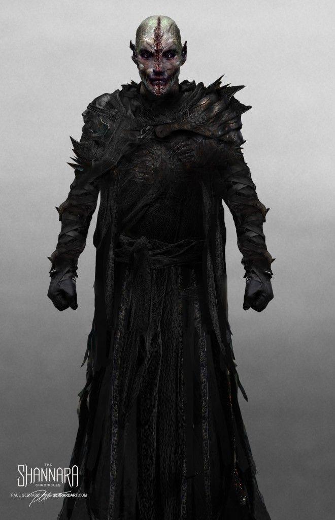 Paul Gerrard on character concepts for MTV's The Shannara Chronicles