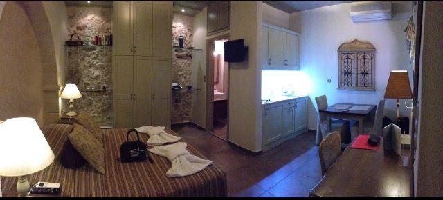 Notre chambre d'hôtel pepi studio à rethymno