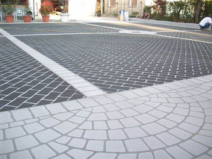 24 best Pavimenti Stampati images on Pinterest | Fresco, Cement ...