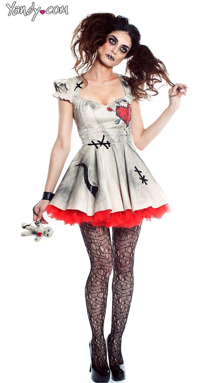 Voodoo Doll Vixen Costume. Voodoo Doll CostumesZombie Halloween