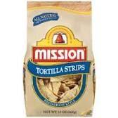 Image result for mission brand white corn tortilla strips