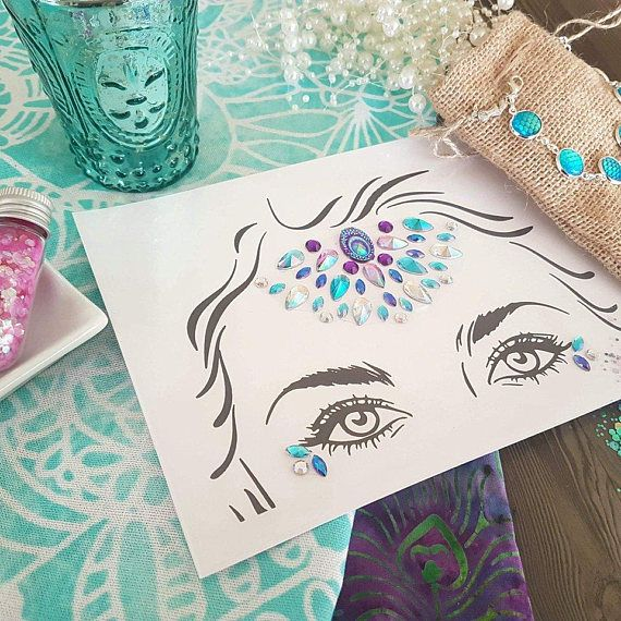 Lola  Body bling festival costume face gems costume jewelry