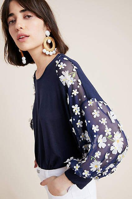 9f59ad643cc3 Eva Franco Becky Floral Top #ad #AnthroFave #AnthroRegistry Anthropologie # Anthropologie #musthave #styleinspiration #ootd #newarrivals #outfitideas  ...