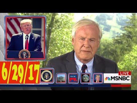 MSNBC Chris Matthews 6/29/17 - Trump's tweets under fire