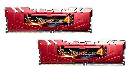 awesome G.Skill 8GB DDR4-2400 8GB DDR4 2400MHz módulo de - Memoria (DDR4, PC/server, 2 x 4 GB, Dual, Heatsink, Rojo)