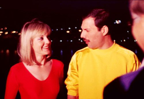queen in budapest Freddie and Mary Austin - Google Search...My Fav...The way they look at each other