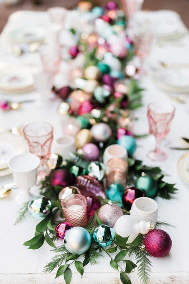 How To Dress Your Christmas Table In Style Christmas Table Settings Holiday Decor Christmas Christmas Table