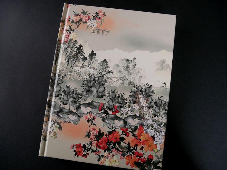 Carnet d'écriture relié modèle Haiku | Carnet d'écriture ...