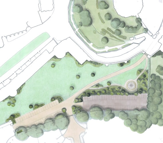 Best Garden Design Sketches Images On Pinterest Architecture