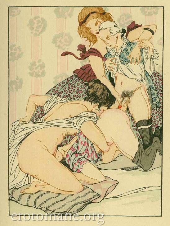 vintage porn paintings