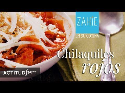 Chilaquiles rojos al estilo de Zahie Téllez por Zahie Téllez