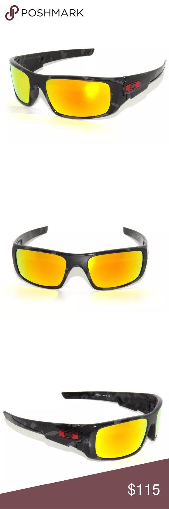 Oakley Crankshaft 9239-11 Camo Sunglasses Excellent Condition, comes with Oakley pouch. SIZE: 60-19-132 Oakley Accessories Sunglasses