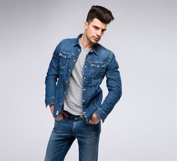 MCM083/S - Cycle #cyclejeans #man #apparel #springsummer #collection #style #fashion #denim #blouse