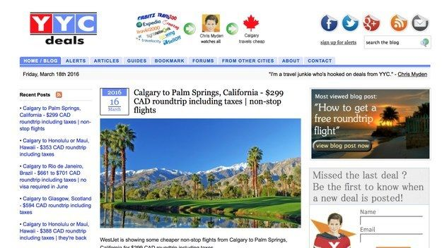 Calgary: YYC Deals | 10 Discount Travel Sites Every Canadian Should Know About
