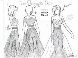fashion sketches sundress - Google Search
