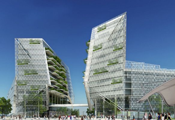 Green architecture is smart architecture - Ken Yeang - Materia