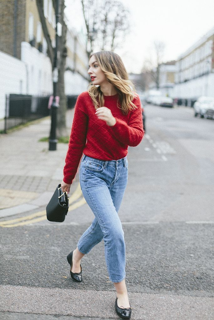 (Jumper: C/O & Other Stories , Jeans: GAP , Shoes: Chanel , Bag: C/O & Other Stories ) Photos by Joe Galvin I'm not quite sure h...