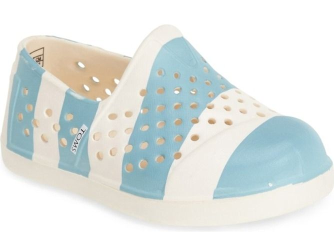 Cool water shoes for kids: TOMS Romper slip-on water shoes