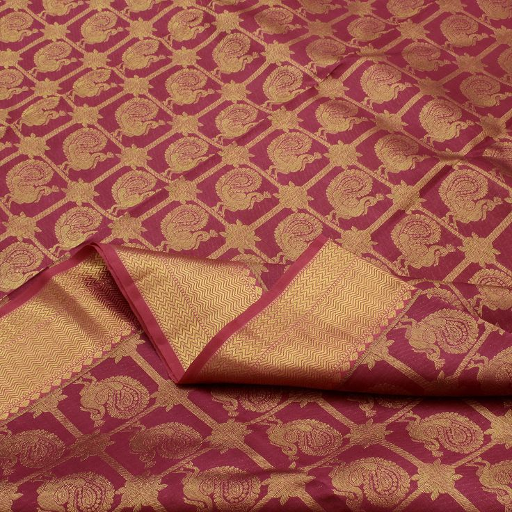 Sarangi Handwoven Kanjivaram Silk Saree - 180123914 from Sarangi