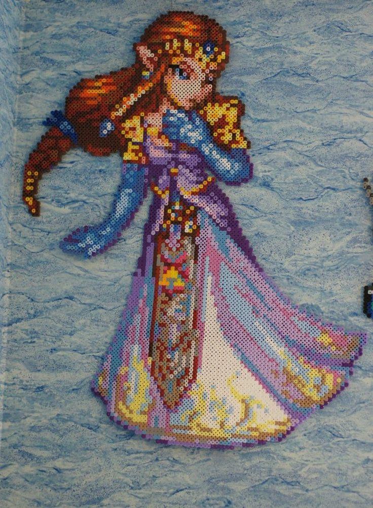 Zelda Bead Sprite by Nicolel12. This person has amazing ...