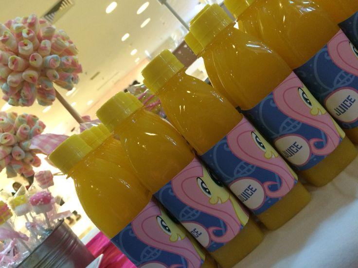 Juice My Little Pony #juice # desserttable #birthdaypart #kids #girls