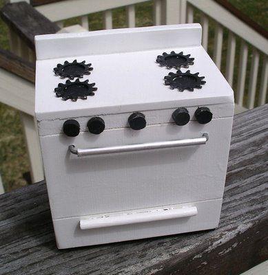 How to Make a Miniature Stove...