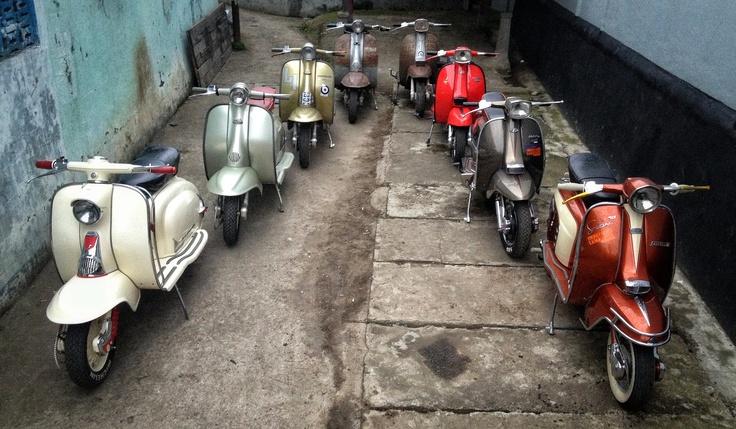 Big Family Bandung - Jakarta  #imperiallambretta #lambrettaclubindonesia
