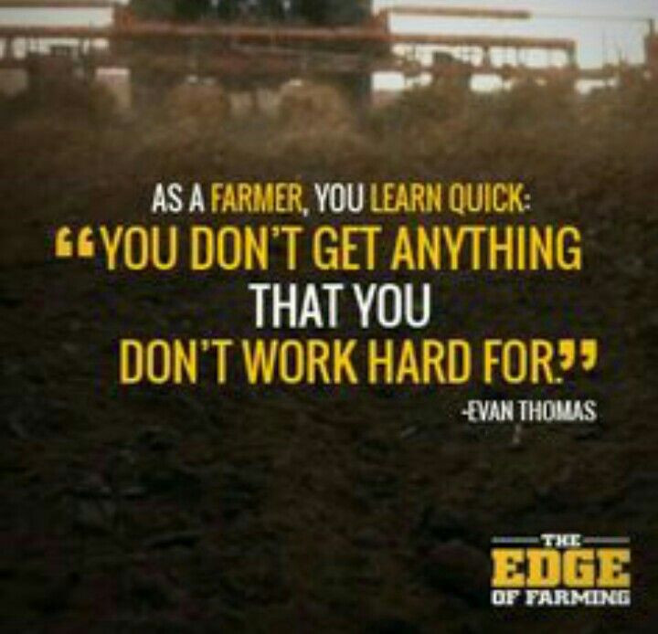 Farming Quotes Amusing Quotes On Farmers Hard Work Picture