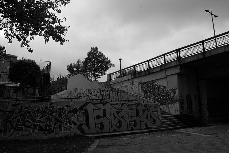 Graffiti - Valladolid B&W