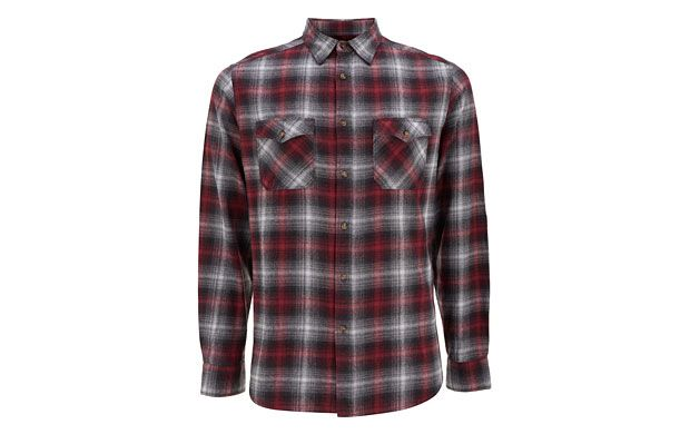 """Double Pocket Shirt. """"A good checked shirt will never go out of style, and this double pocket flannel shirt will be your new favourite."""""""
