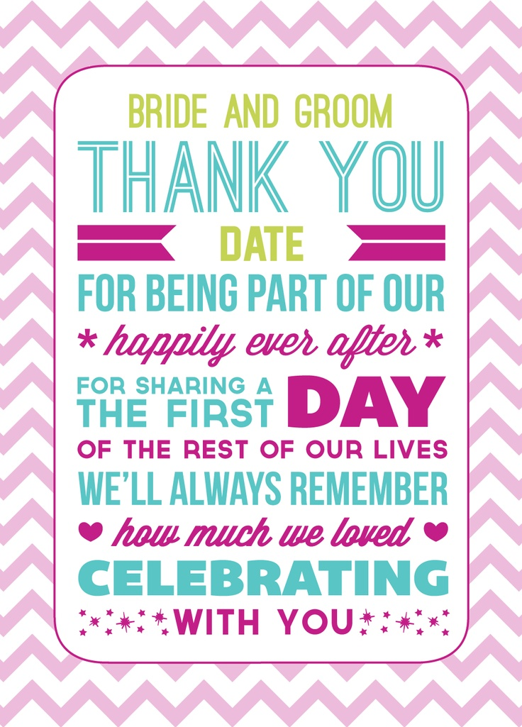 The 25+ Best Thank You Card Template Ideas On Pinterest | Thank