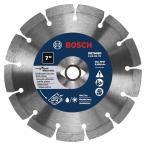 Bosch 7 in. Diamond Hard Premium Plus Circular Saw Blade for Pavers, Soft Brick, and Concrete/Block