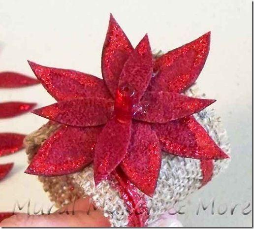 Holiday Burlap Napkin Rings - Just Paint It Blog