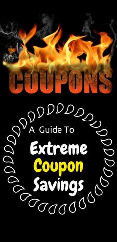 A Guide to Extreme Coupon Savings. Save pin to revisit later