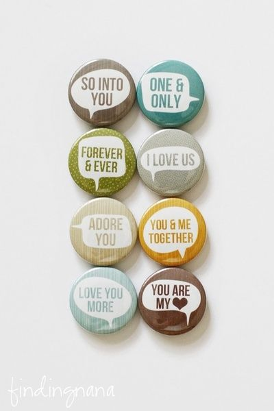 cool pin badges by FindingNana