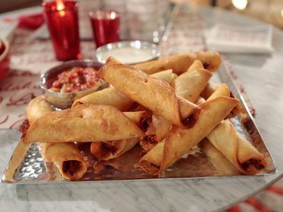 "Crispy Chicken Taquitos (Christmas Sing-a-long) - Giada De Laurentiis, ""Giada's Holiday Handbook"" on the Food Network."