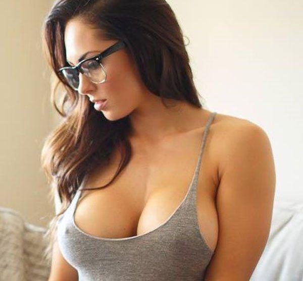 Think, Hot bra girl in public that